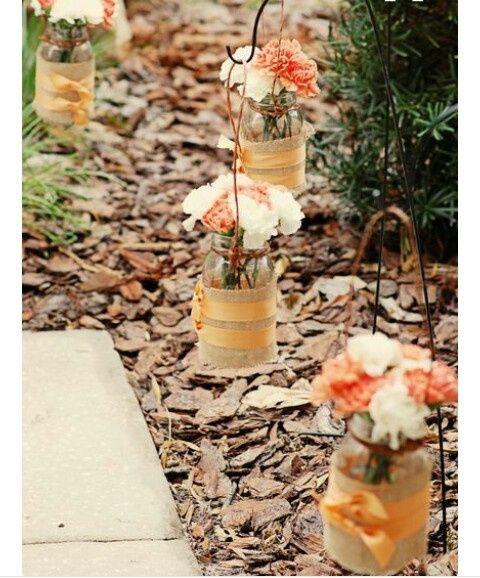 ideas decoración: boda al aire libreotoño