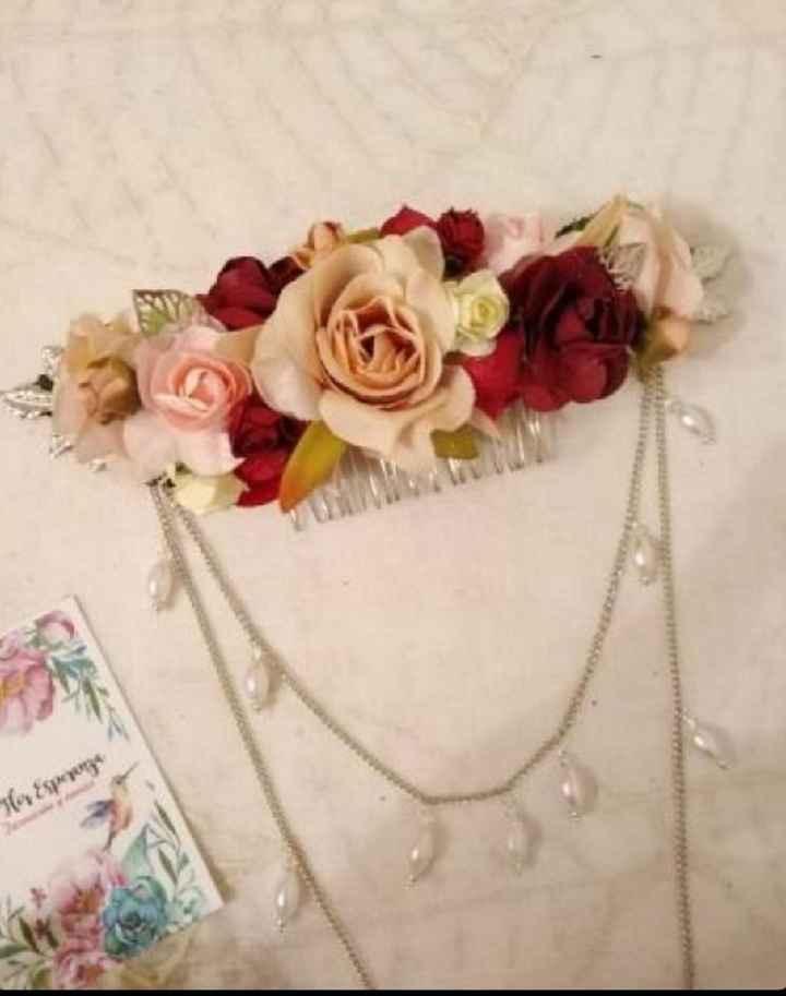 Dato útil para tocados y arreglos florales - 1