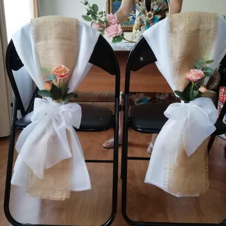 Idea para adornar sillas - 1