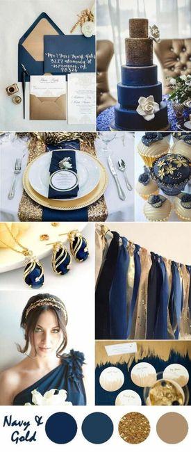 Boda con tonos azules 3