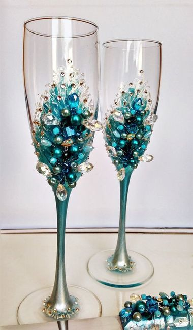 Boda con tonos azules 9