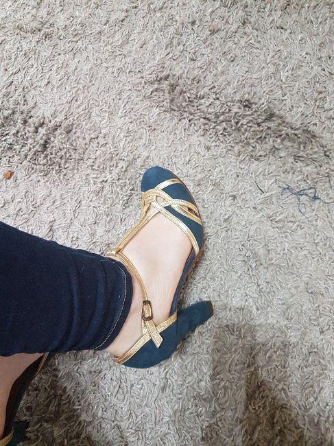 Zapatos verde esmeralda 4
