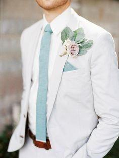 Look novio para matrimonio rústico o de día 4