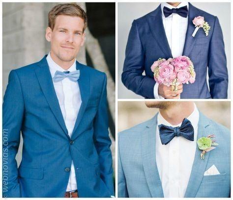 Look novio para matrimonio rústico o de día 5