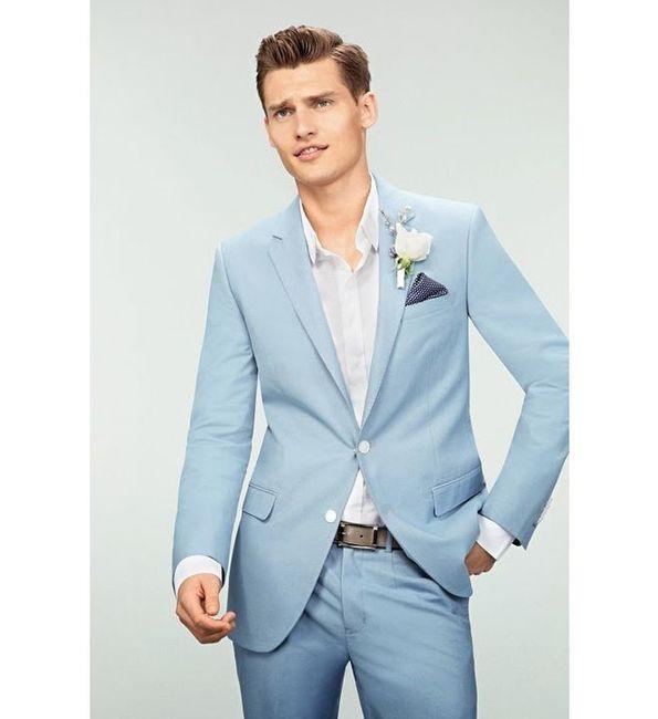 Look novio para matrimonio rústico o de día 10