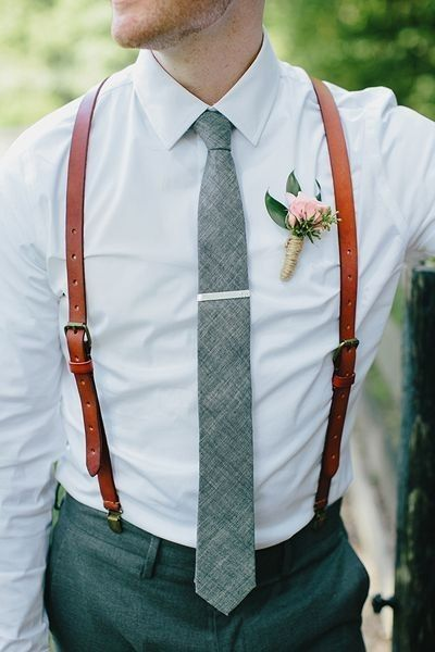 Look novio para matrimonio rústico o de día 14