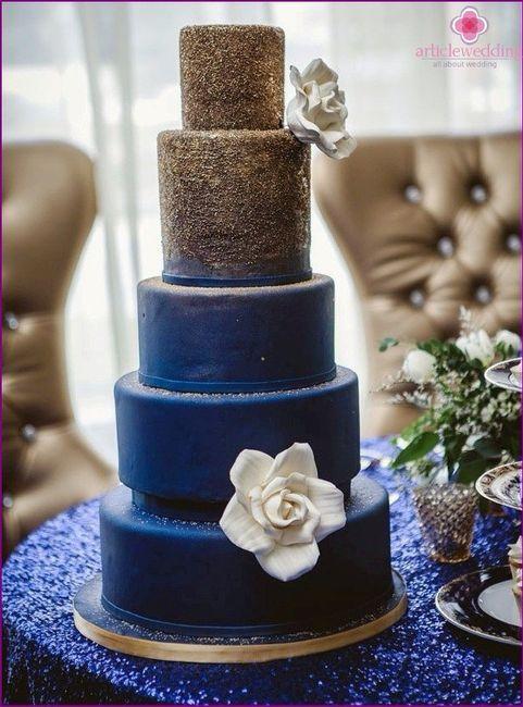 Tortas en color Azul 2