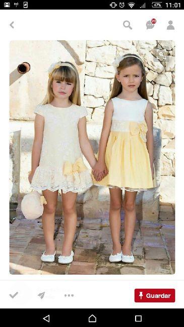 5253f00ac Vestidos pajes tonos amarillos