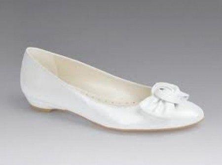 zapatos bajos para novia