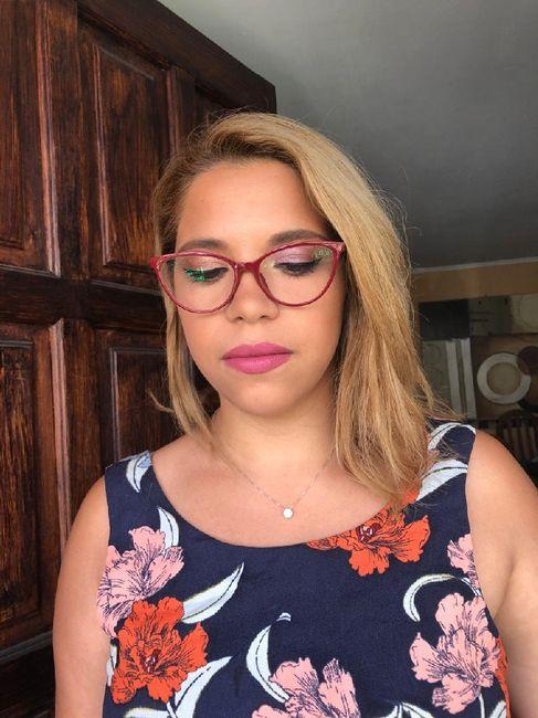Novia con anteojos 1