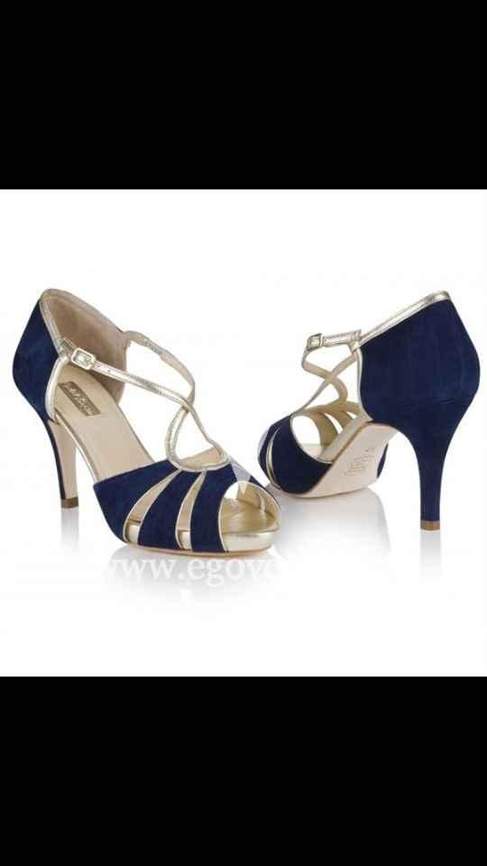 Zapatos blancos o de color???? - 1