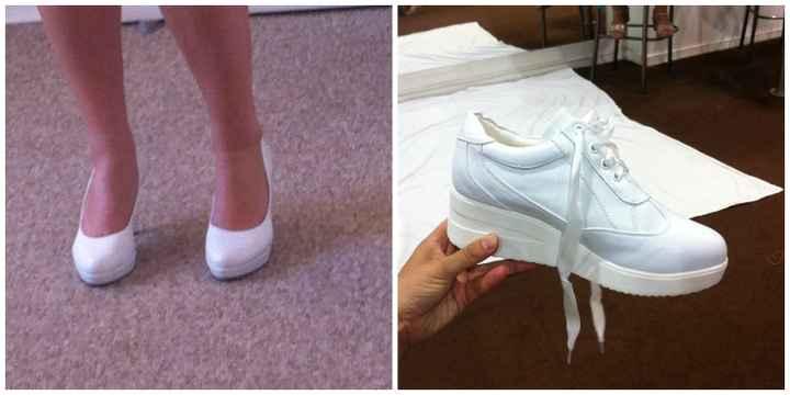 Mis zapatos de novia