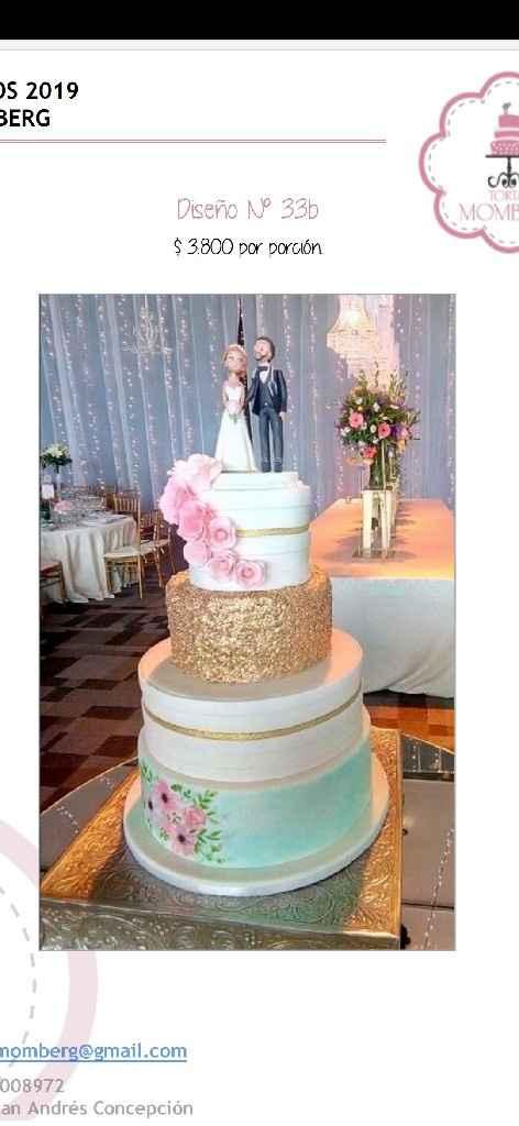 Tendencias en Torta de matrimonio (pastel de boda) 2020 - 1