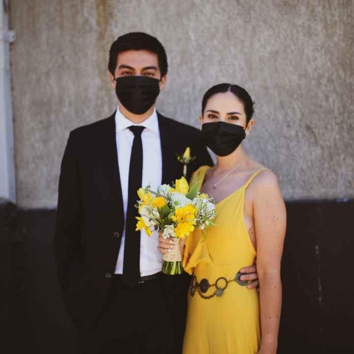Mascarilla de novia - 1