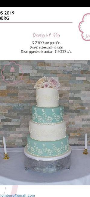 ¿Ya eligieron el diseño para el pastel de los novios? - 1