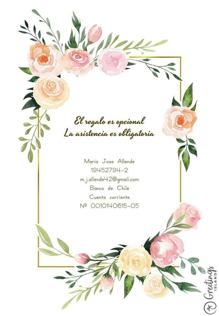 Invitacion de matrimonio - 2