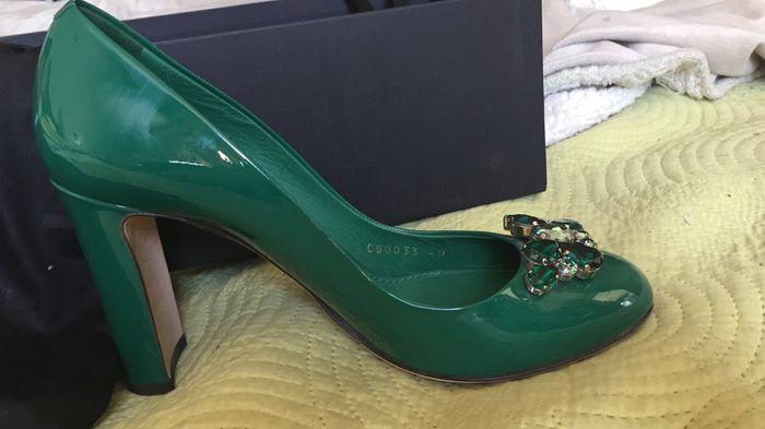 Zapatos verde esmeralda 3