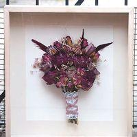 Ramo de flores naturales, de seda o cristal. cuál eliges tu? - 1