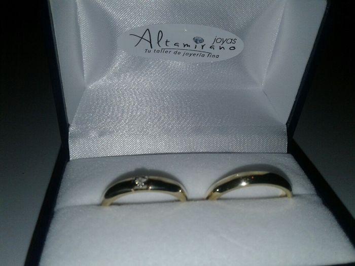 Ya tenemos los anillos. - 1