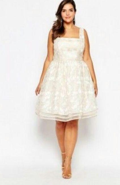 afa446b87 Vestidos para matrimonio civil para novias con curvas 🌷 2
