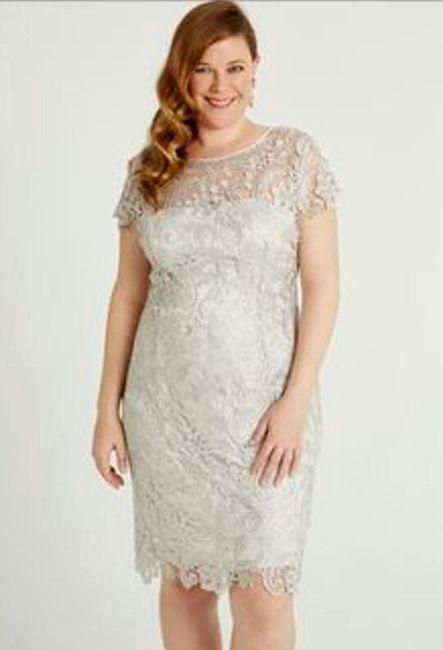 0e97ba91a Vestidos para matrimonio civil para novias con curvas 🌷 3