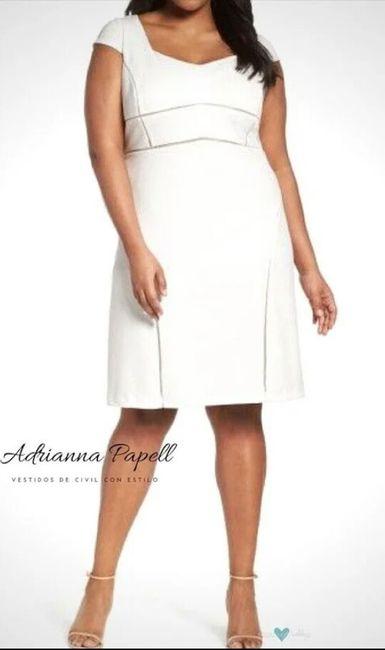 3945a4d21 Vestidos para matrimonio civil para novias con curvas 🌷 15