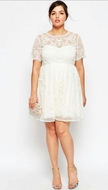 d6d42a925 Vestidos para matrimonio civil para novias con curvas 🌷 17