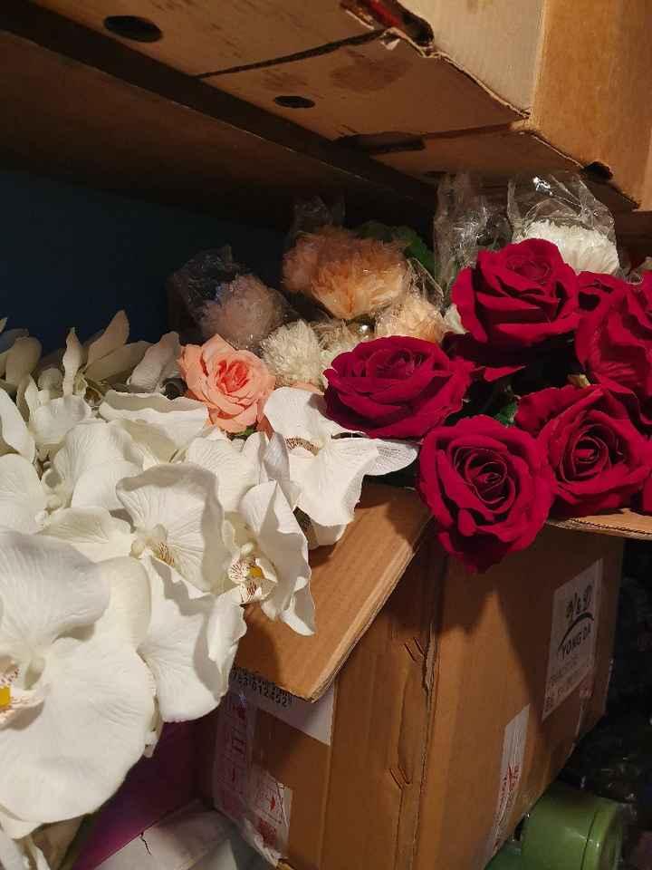 hola Comu: ¿flores artificiales para la decoración? - 2