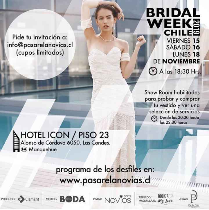 Bridal Week Stgo👰🏻💐 - 1
