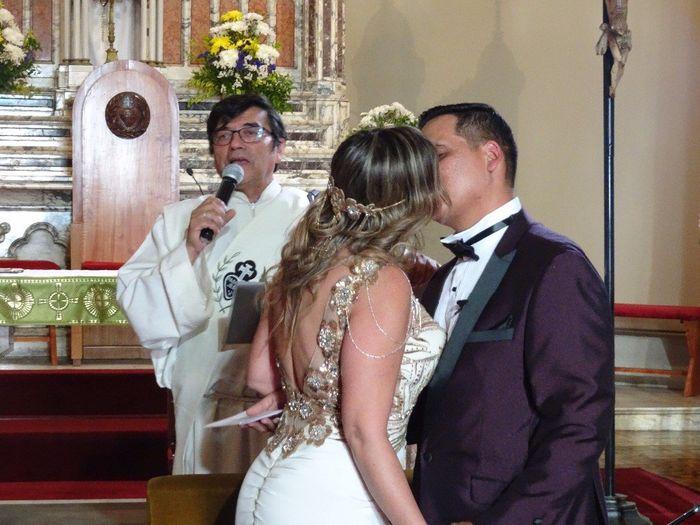 Ceremonia por la Iglesia, todo pero todo fue perfecto 6