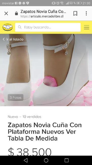 01586c0b ¿Dónde comprar sus zapatos de novia? 1