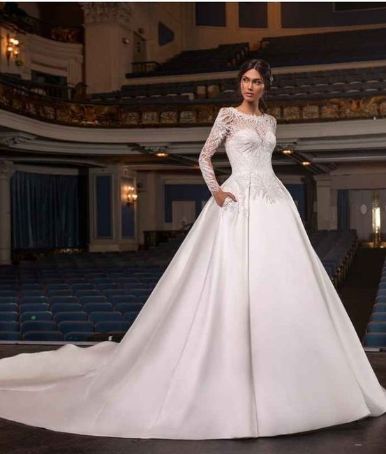 Con el vestido que me casaría sería Elegante - 1
