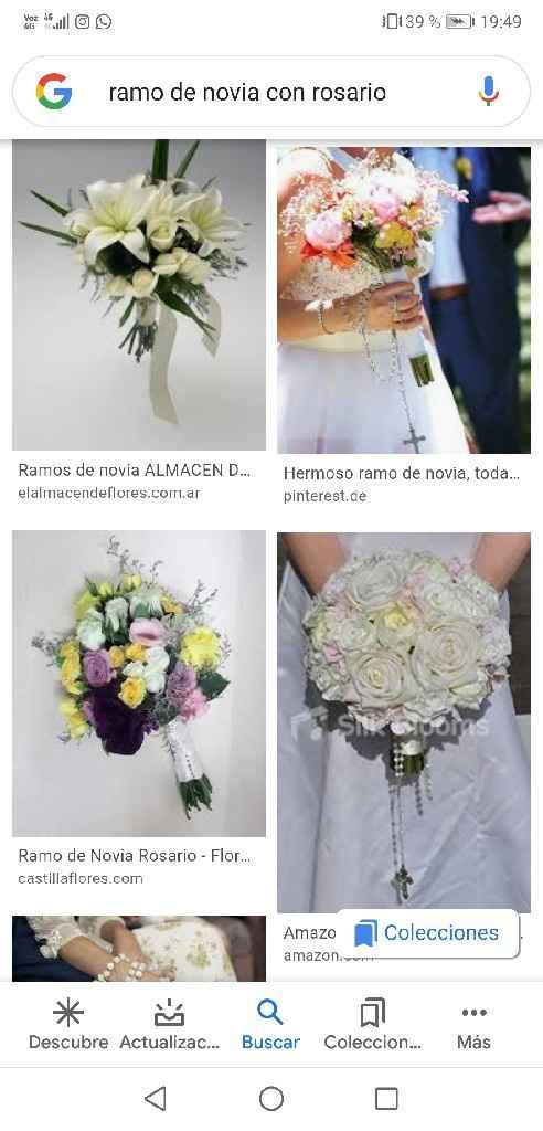 Ramo de Novia + Rosario - 1