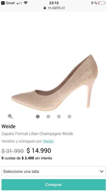 8e4a6b95 Datito de zapatos!!!