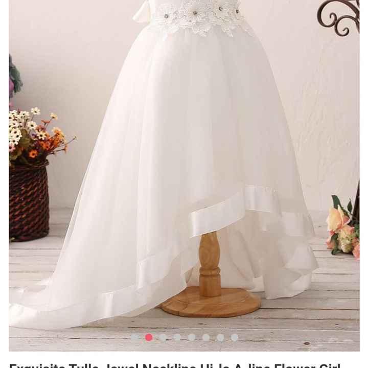 Hola soy claudia estoy buscando vestidos de pajecita - 1