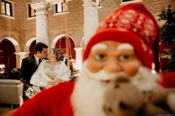 ¿Te gustan las bodas navideñas? 🎅 - 1