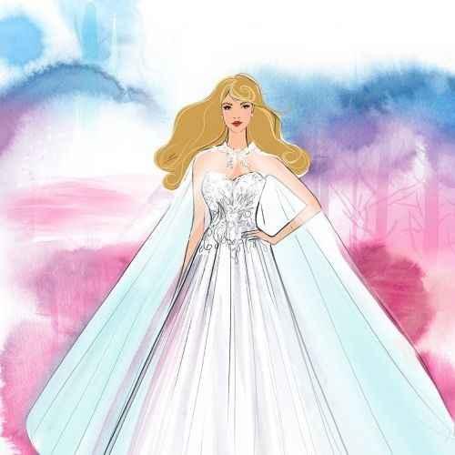 Colección de vestidos de novia DISNEY: de la fantasía a la realidad🏰 - 16