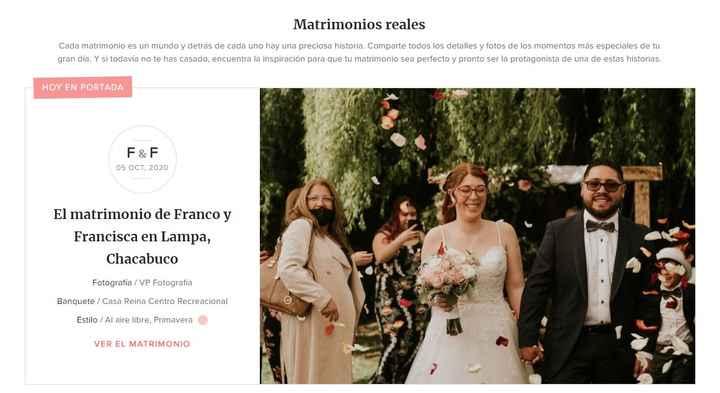 Publica tu matrimonio en el portal🥰👏 - 1