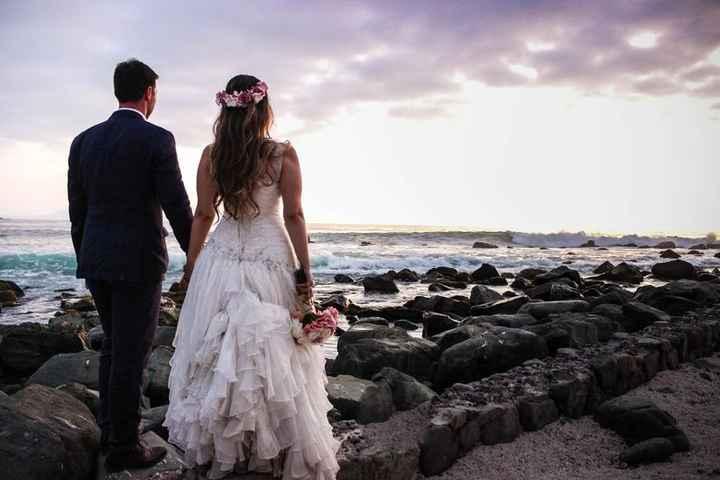 ¿Cuánt@s novi@s se casan en playa?🏝️¡Mira estas playas de Chilito! - 1