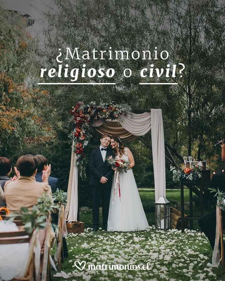 ¿Religioso o Civil? - 1