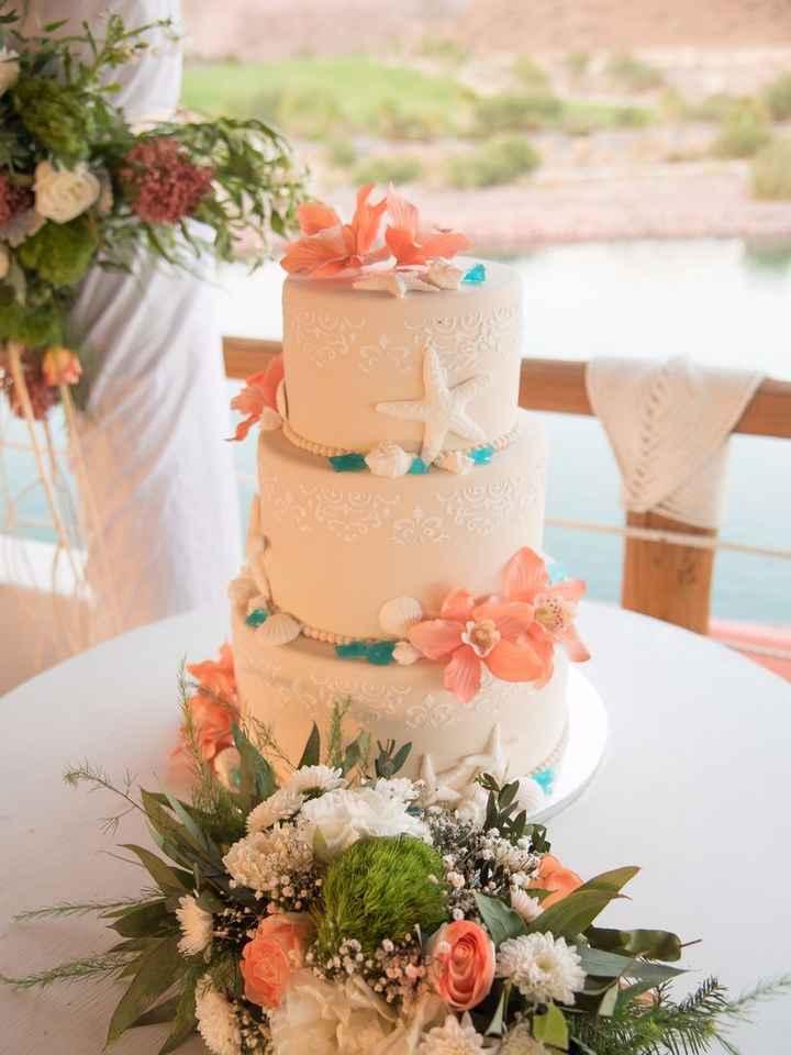 Torta de bodas en Antofagasta - 1