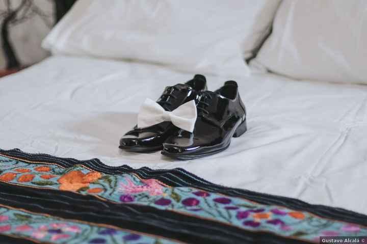 Los zapatos del novio: ¿Opacos o de charol? - 1