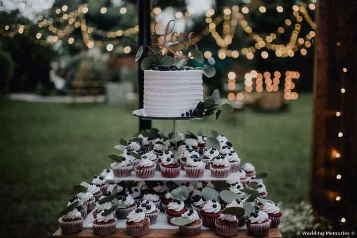 Tortita nupcial + cupcakes: ¿Es una buena opción? - 1