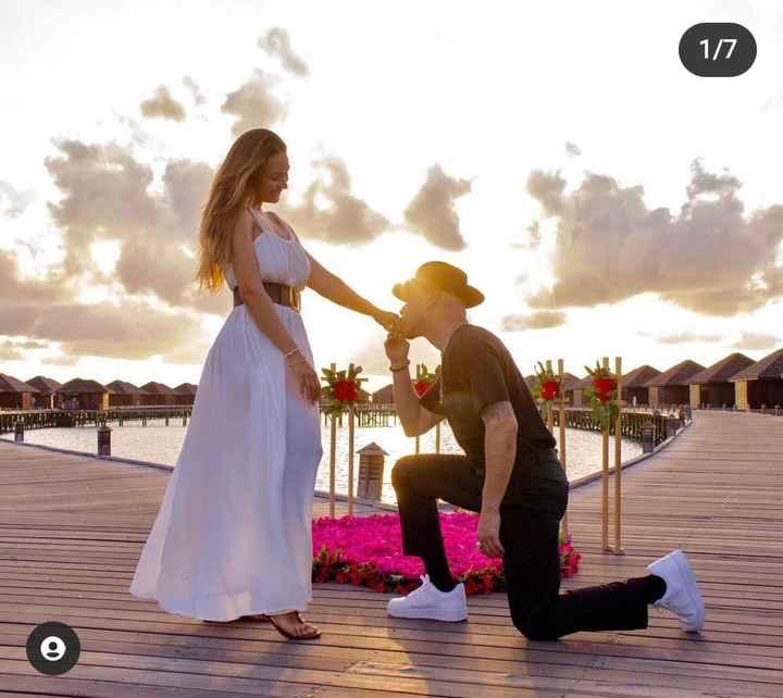 Lisandra y Raúl Power Peralta se comprometieron en Maldivas💍 - 1