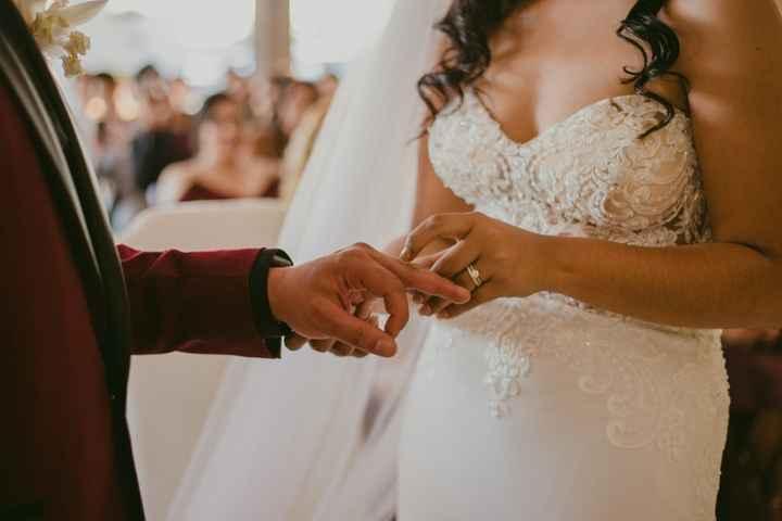 ¿Intercambiarán las argollas en la ceremonia civil? - 1
