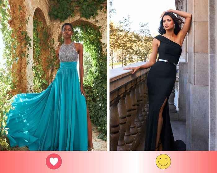 2 vestidos de invitada: escoge UNO - 1