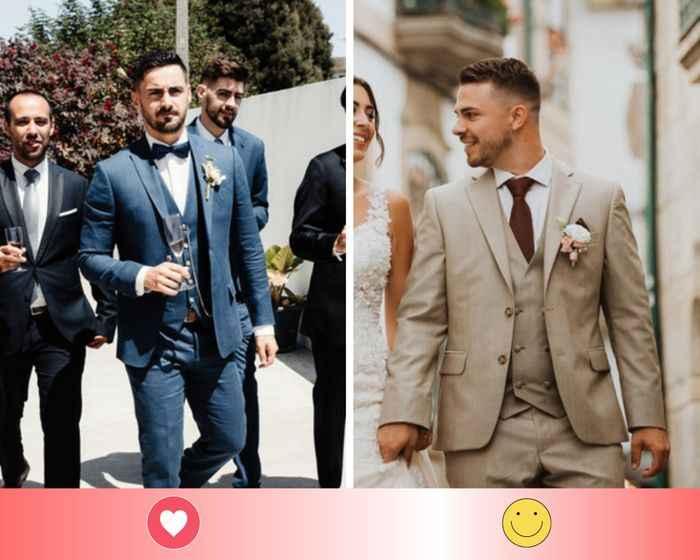 2 trajes de novio: escoge UNO - 1