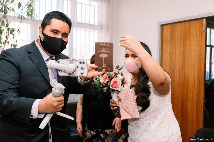 ¿Con cuánto tiempo de anticipación solicitar la hora para el matrimonio civil? - 1