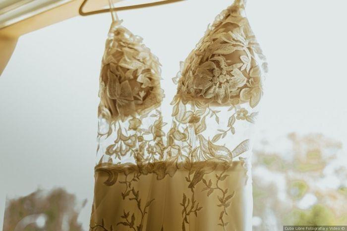 Que opinen sobre tu vestido de novia... 1