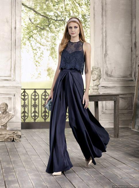 Elige tu vestido para el matri civil: AZUL 1